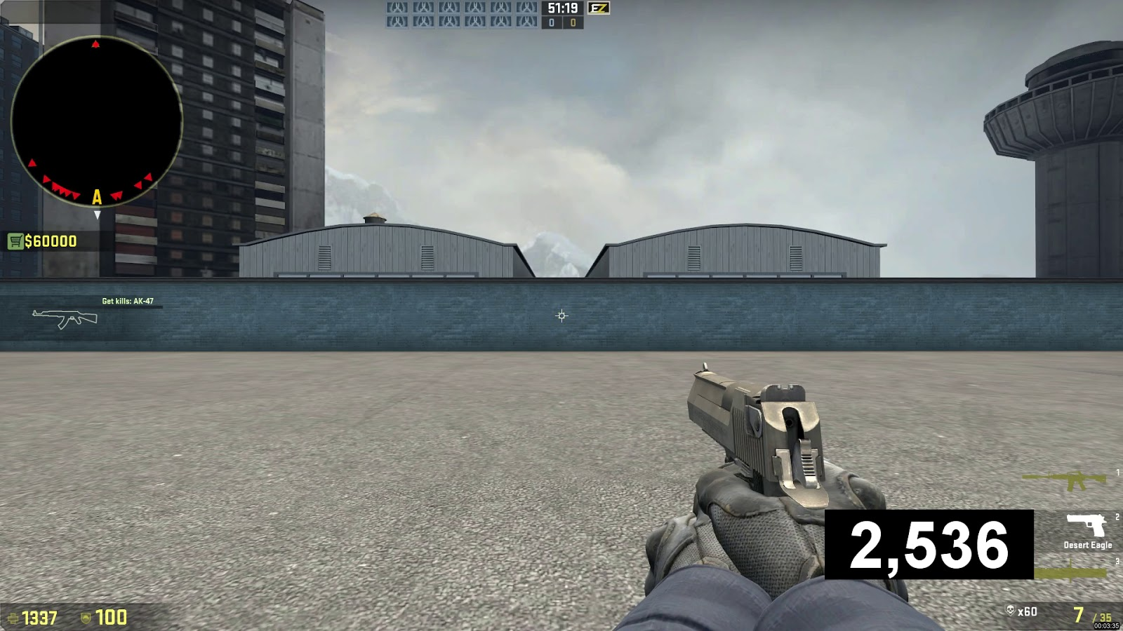 USP Shooting accuracy CS:GO