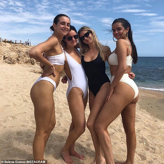 Shamed for this: This comes a year after the Rare songbird, seen on the far right with her friends, said that she was body shamed online for putting on a few pounds. The cause of the weight gain was medications she took to help her combat Lupus