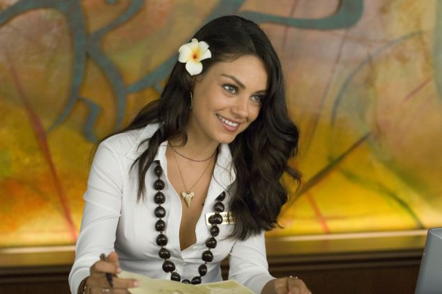 Stunner: Ukrainian born actress Mila Kunis who starred in Hollywood film Forgetting Sarah Marshall comes from the country whose capital city Kiev was named as having the world