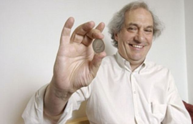 Beating the Odds: Stanford professor Persi Diaconis, pictured, has determined that a flipped coin is more likely to end up facing the same direction as when it was first tossed than not.