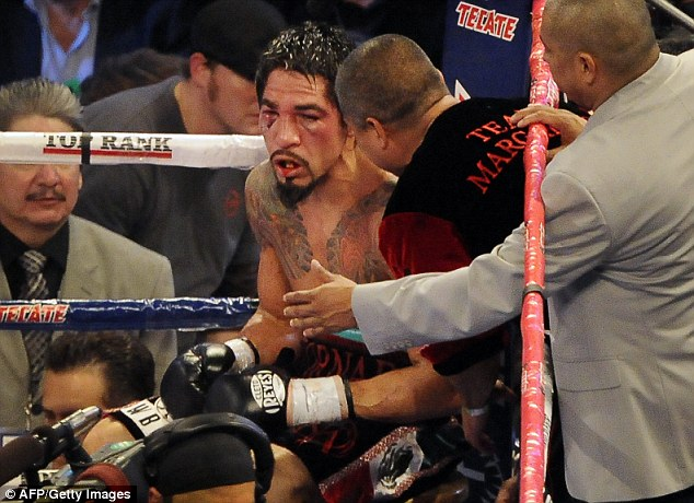 Pacquiao easily dominated Antonio Margarito to win a unanimous points decision in his second fight of 2011