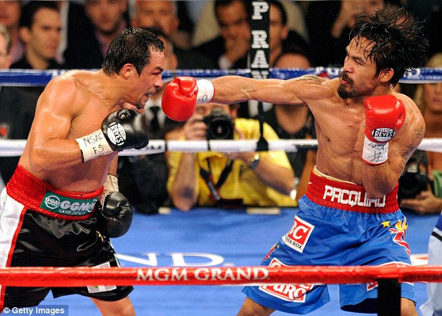 Pacquiao beat Marquez in his second fight of 2011, having beaten Shane Mosley earlier in the year