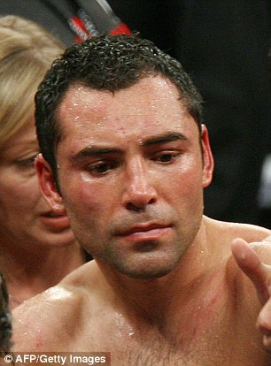 De La Hoya after Mayweather