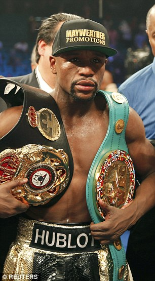 Mayweather would come out of retirement to try and improve his record of 49-0 if the fight takes place