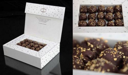 Swarovski-studded Chocolate