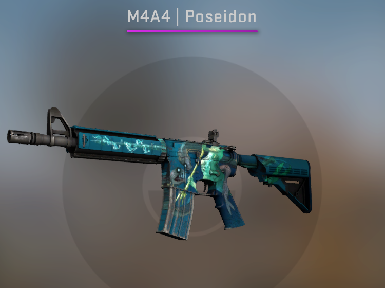 M4A4 Poseidon - Factory New CS:GO Skin