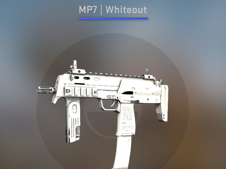 MP7 Whiteout - Factory New CS:GO Skin
