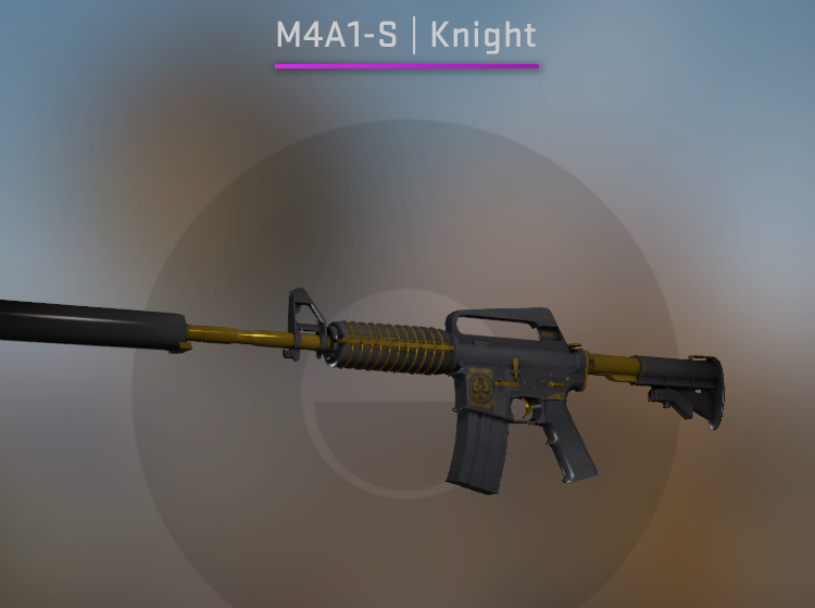 Souvenir M4A1-S Knight - Factory New CS:GO Skin