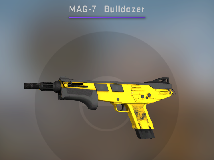 Souvenir MAG-7 Bulldozer - Factory New CS:GO Skin