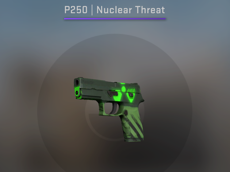 Souvenir P250 Nuclear Threat - Factory New CS:GO Skin