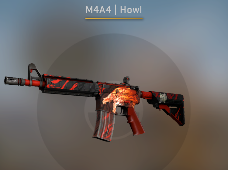 StatTrak M4A4 Howl - Factory New CS:GO Skin