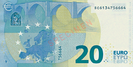 strong euro currency