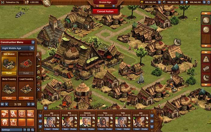 Forge of Empires браузерная экономическая онлайн игра: Forge of Empires экономическая игра